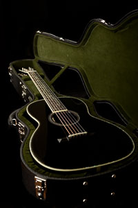 Collings 0041 Jet Black Tree of Life