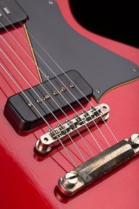 Collings 290 – Aged Candy Apple Red