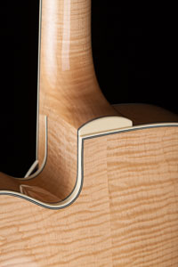 Collings AT-16 Blonde Archtop with Cutaway