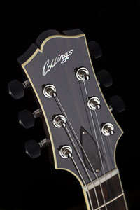Collings CL Deluxe – Acid Wash Charcoal Burst