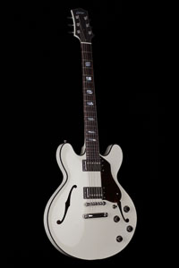 Collings I-35 Deluxe in Olympic White
