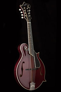 Collings MF Deluxe Merlot Mandolin