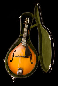 Collings MT2 Varnish Mandolin in Tangerine Sunburst