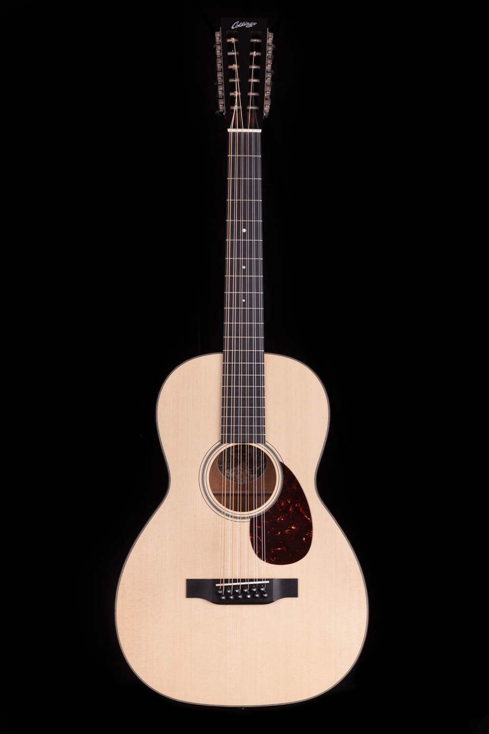 collings 01 12 string small body 12 string acoustic guitar. Black Bedroom Furniture Sets. Home Design Ideas