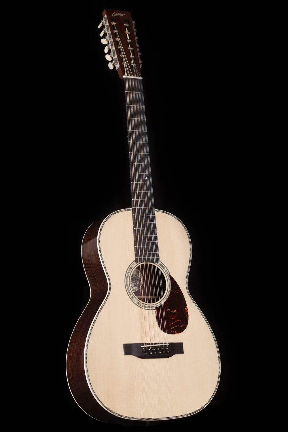 collings 02h 12 string small body 12 string acoustic guitar. Black Bedroom Furniture Sets. Home Design Ideas