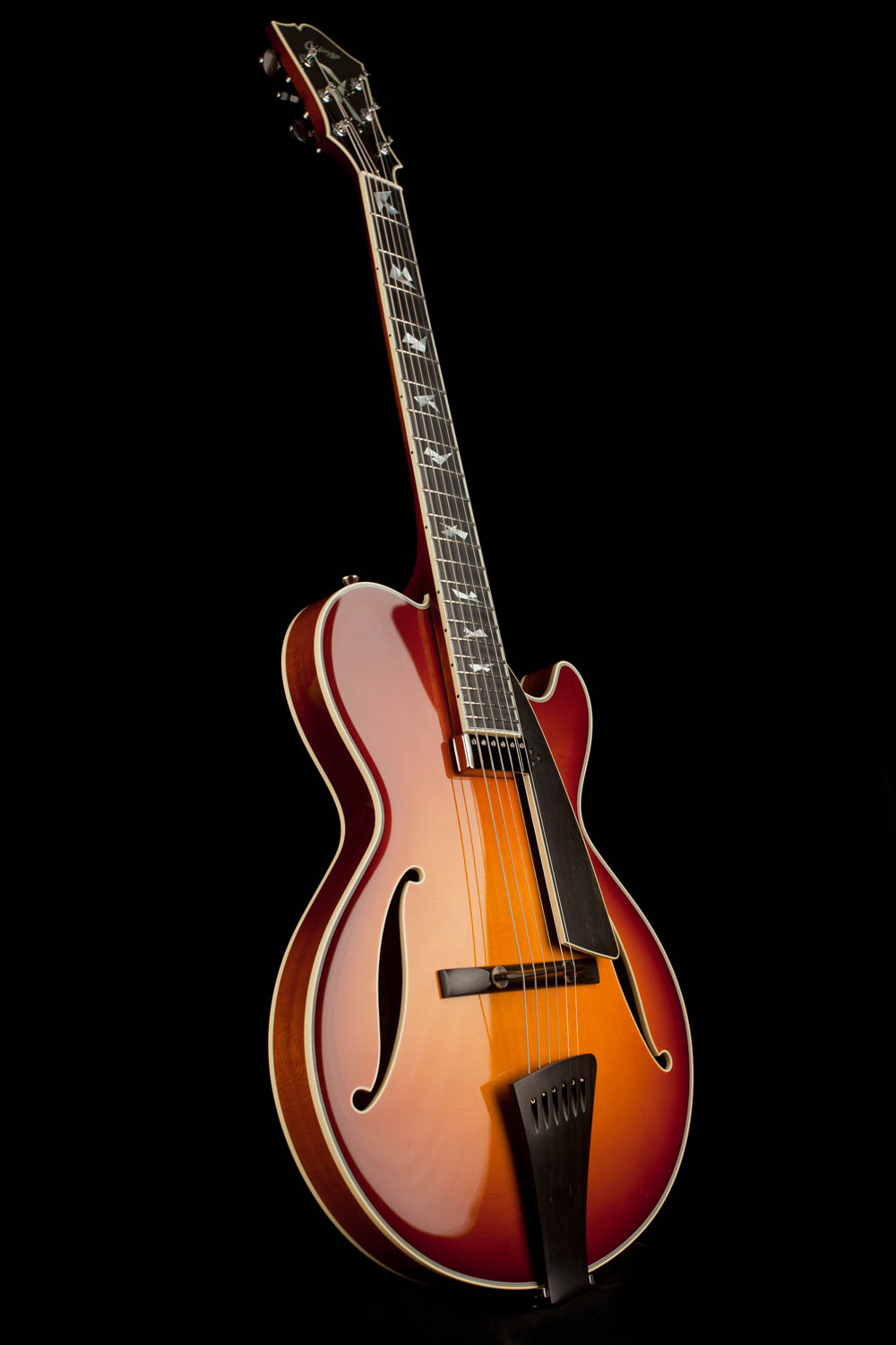 Collings Cl Jazz Thin Line Archtop Electric Guitar The Following Diagram Details Various Parts Of An