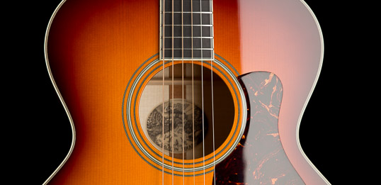 Custom Acoustic Guitar