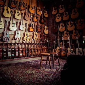 Collings Dealer Guitar Showroom