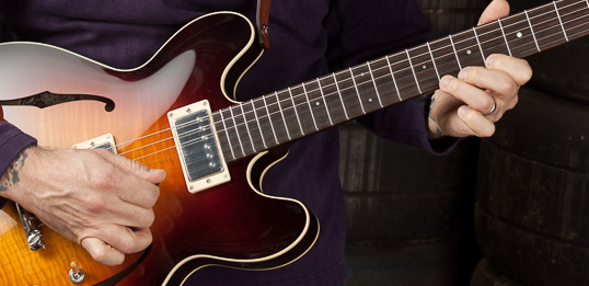 Artists Playing Collings Semi-hollow Electric Guitar