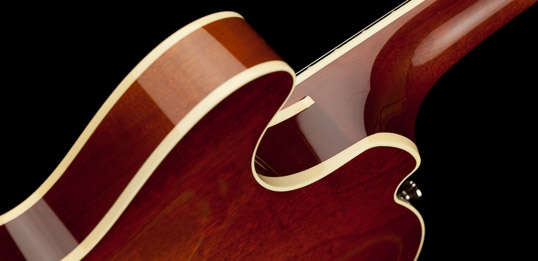 Collings Electric Guitar Neck Heel