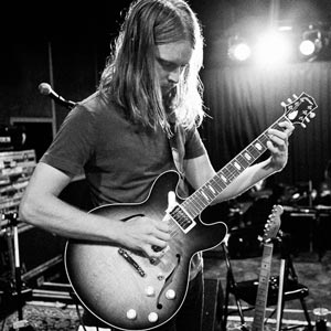 James Valentine with Collings Electric Guitar