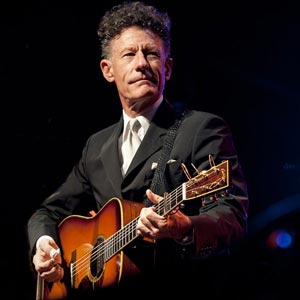 Lyle Lovett with Collings Acoustic Guitar