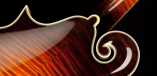 Collings F-style Mandolin Scroll