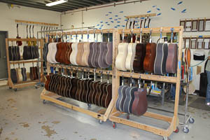 Acoustic Guitar Finish Department