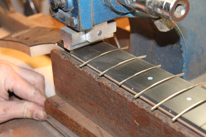 Collings Shop Tour Acoustic Guitar Neck Build