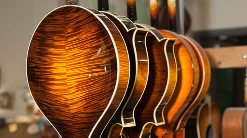 Mandolins Being Finished